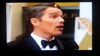 Ethan Hawk Oscars 2015 Boyhood Dayton Ohio Shout Out