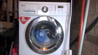 lg f1222td direct drive washing machine bio care 60 c complete cycle