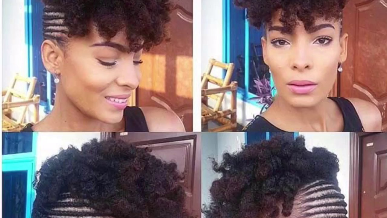 Protective style cornrow updo with curls youtube protective style cornrow updo with curls urmus Image collections
