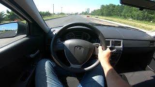 2013 LADA Priora 1.6L POV Test Drive