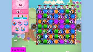 Candy Crush Saga Level 3403 in 8 moves NO BOOSTERS
