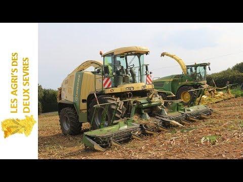 BIG SILAGE in FRANCE   8400i & BIG X 700 en DEMO   DEUTZ FAHR POWER