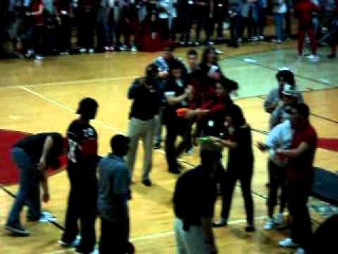Miami Southridge Senior High School 3rd Pep Rally 2010 - 2011 2ed Wacky Olympics