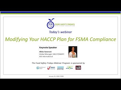 Modifying Your HACCP Plan for FSMA Compliance