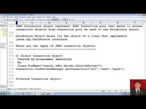 81 Advanced Java Tutorial   JDBC   JDBC Connection Pool and Its Utilization   adv java