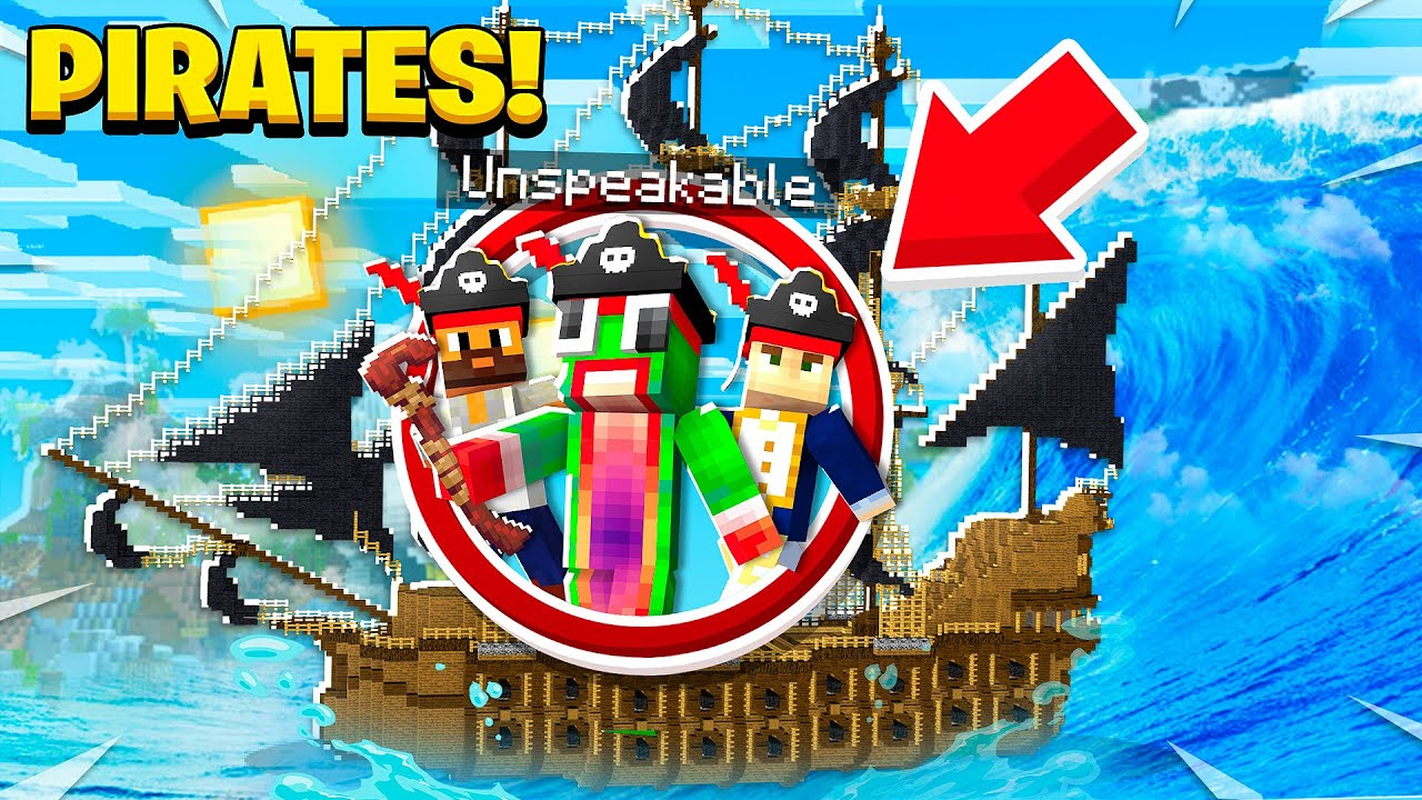 BECOMING A PIRATE IN MINECRAFT! thumbnail