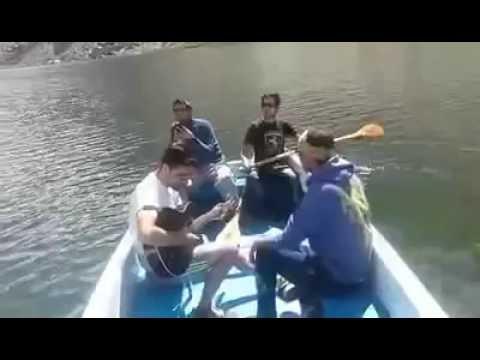 Having fun at Jarba cho (Blind Lake) Shigar
