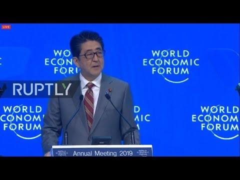 LIVE: World Economic Forum 2019: Shinzo Abe special address