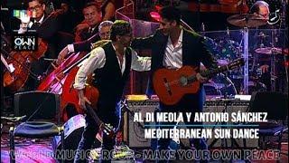 Al Di Meola y Antonio Sánchez - Mediterranean Sun Dance - PA25 - World Music Group
