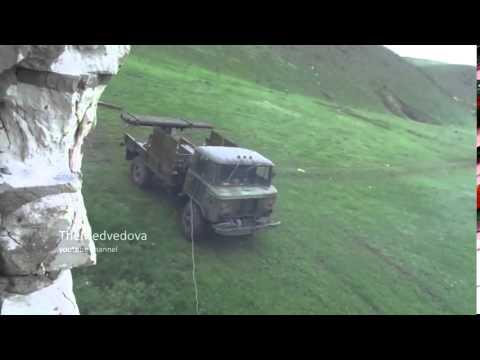Mini BM-21 Grad pro-Russians Lugansk rebels