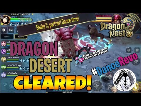 Dragon Nest M: Dragon's Lair Dragon Desert Hell (Stage 4) CLEARED!!!