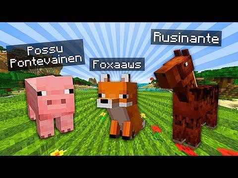 LEMMIKKIEN RISTIÄISET   Minecraft #2