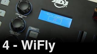 ADJ WiFly NE1 Tutorial 4   WiFly Setup