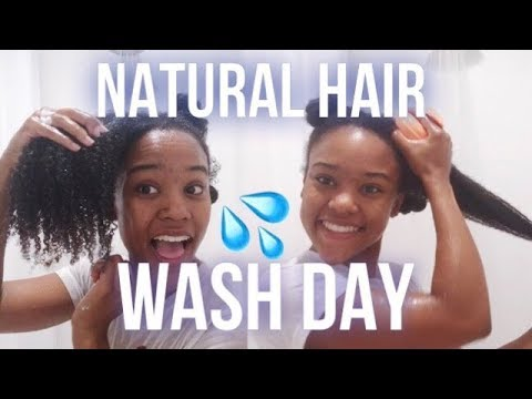 Natural Hair Wash Day Routine for Type 4B/4C (UPDATED)