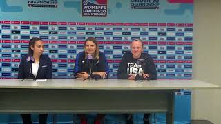 United States at Concacaf Press Conference ahead of Under 20 Women's Championship