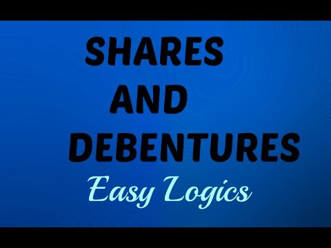 Shares and Debentures (DIFFERENCE in Hindi)-Easy Explainations.