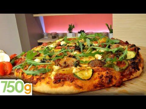 recette-pizza-aux-légumes---750g