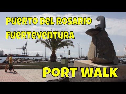 Puerto del Rosario, Fuerteventura - Port Walk