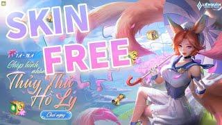 Trải nghiệm Skin miễn phí của gà rán Liliana - Thủy Thủ Hồ Ly | Top 1 Liliana