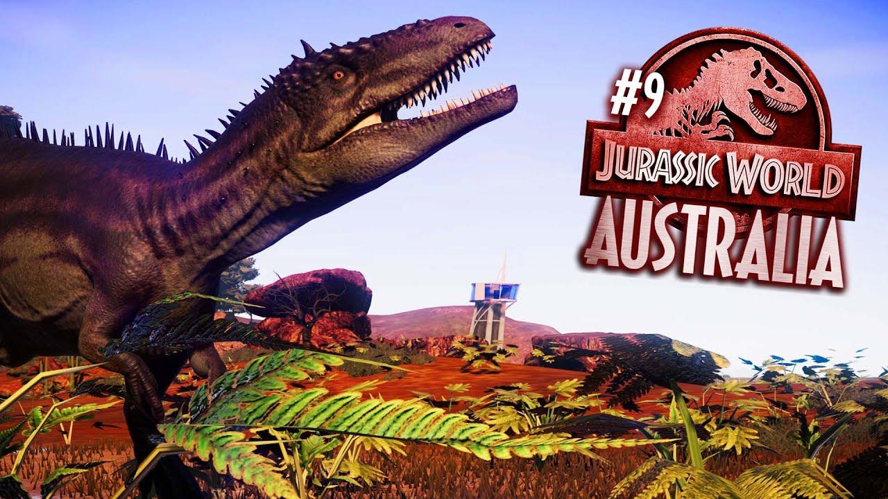 Predators of the OUTBACK   Jurassic World Australia   Jurassic World Evolution park build