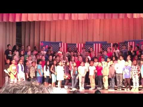 Callahan Elementary School Lynn Ma Veterans Day 2015