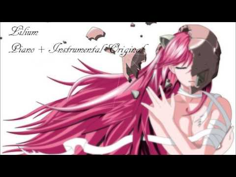 Lilium - Elfen Lied - Piano + Original Instrumental