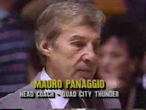 CBA Quad City Thunder vs Wichita Falls Texans 1989