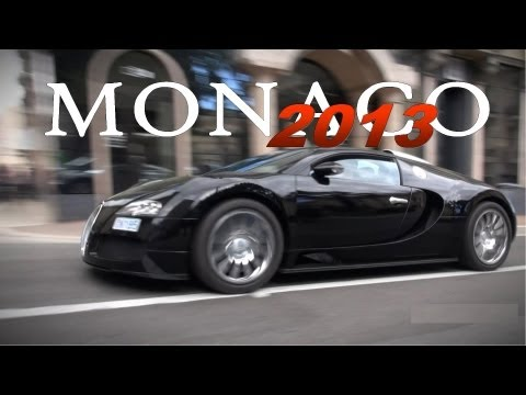 Monaco Supercar Spotting 2013