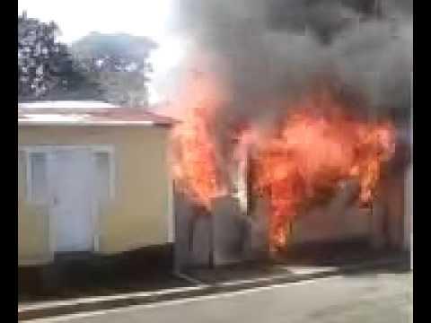 Fuego Casa En Puerto Plata