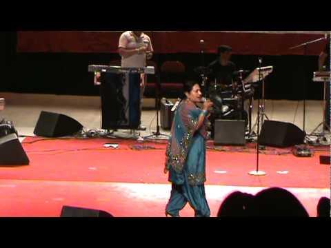 Asha Sharma Introducing The Singers For 2nd Phase Of Vaisakhi Mela 2010