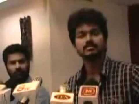vijay angry press meet full video