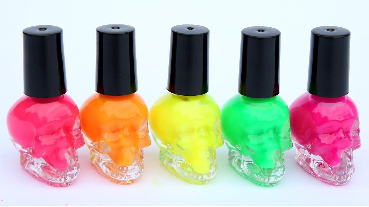 Neon Nail Polish Coca Cola Lip Balm Lipstick Eraser Gloss Cosmetic Set