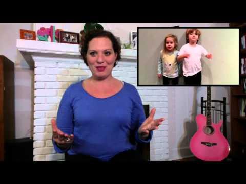 Children's Fingerplay/Rhyme: Chubby Little Snowman