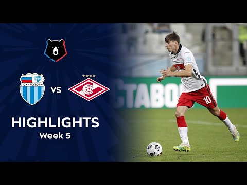 R. Volgograd Spartak Moscow Goals And Highlights