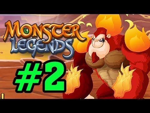 Monster Legends - Thế Giới Quái Vật - HỎA HẦU VƯƠNG (FIRE MONKEY) Tập 2