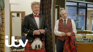 Gordon, Gino and Fred: Road Trip   Getting Kitted Out in Kilts   ITV