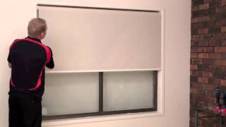 How to Correct the Tracking of a Roller Blind