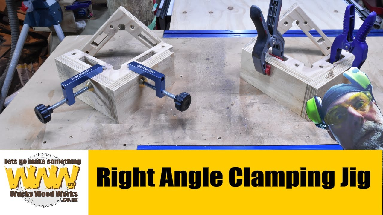 #WoodJigs21 - Right Angle Clamp Jig - Wacky Wood Works
