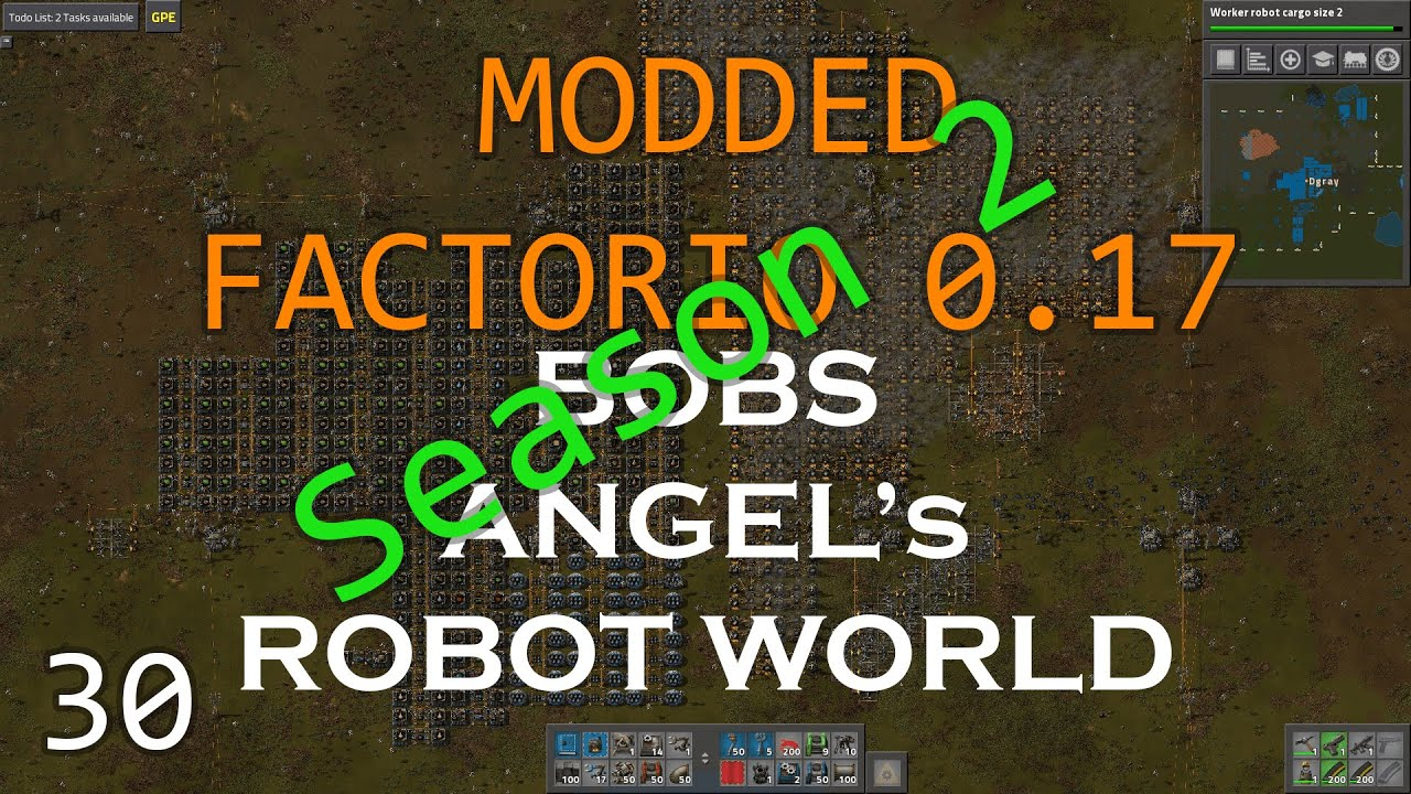 Modded Factorio 0 17 - Bobs - Angel's - Season 2 Ep 30 – FASTER ROCKET  LAUNCH!