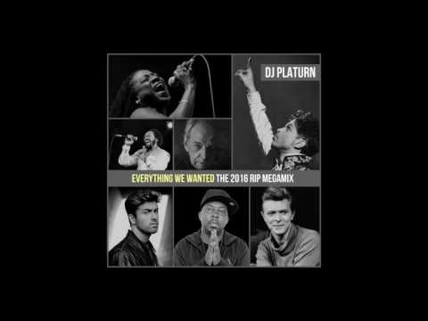 DJ Platurn - Everything We Wanted (The 2016 RIP Megamix)