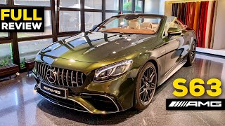 2019 MERCEDES AMG S63 V8 BRUTAL Olive Green FULL Review VIP CENTER OF EXCELLENCE Showroom Germany