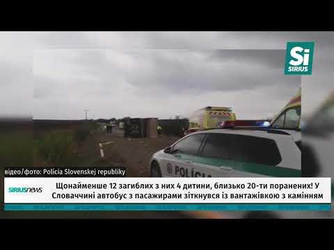 Жахлива аварія у Словаччині