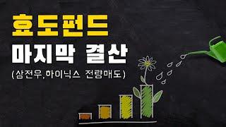 효도펀드 마지막 결산(삼성전자우,SK하이닉스 전량매도)