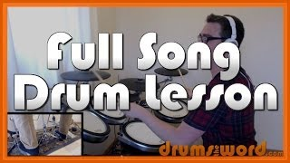 ★ The One I Love (R.E.M.) ★ Drum Lesson PREVIEW | How To Play Song (Bill Berry)