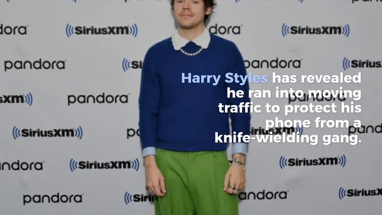 Harry Styles: I ran into traffic to escape robbers in Valentine's Day ...