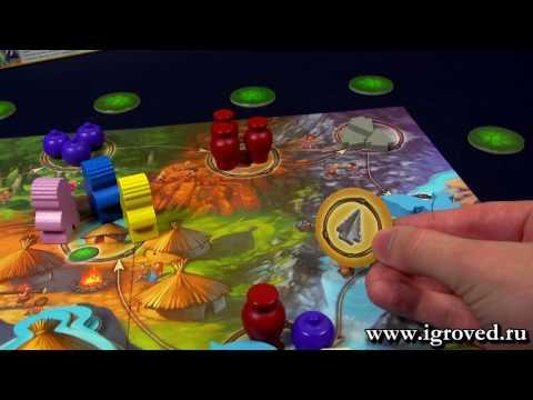 Каменный век Junior. Обзор настольной игры от Игроведа
