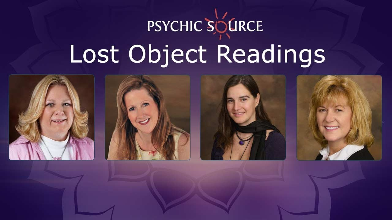 Lost Object Readings from Psychic Source