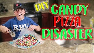 DIY CANDY PIZZA DISASTER!