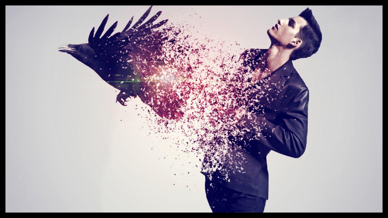 Photoshop CS6: Disintegration Effect | Raven - YouTube