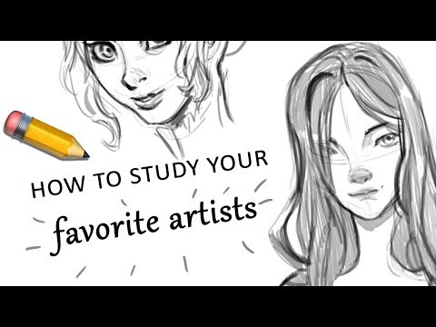 How to Study your Favorite Artists